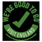Visit England - We're Good to Go - Logo